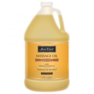 MASSAGE OIL, BON VITAL HAZELNUT, GAL