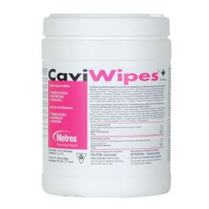 "CAVIWIPES, SURFACE DISINFECTANT WIPES, ALCOHOL BASED 6""X6.7"" (160/EA)-CS/12"