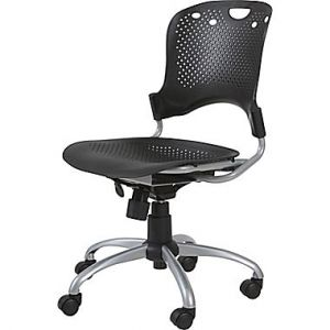 TASK CHAIR, BLASTIC BLACK CIRCULATION