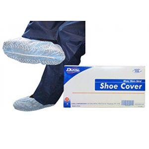 NON-SKID SHOE COVERS, NON-STERILE BLUE