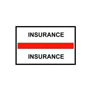 INSURANCE RED INDEX TABS 100/PK