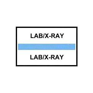 LAB/XRAY INDEX TABS BLUE 100/PK