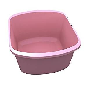 WASH BASIN RECTANGULAR MAUVE 7.4QT.
