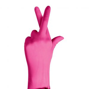 PINK 3G SYNTHETIC EXAM GLOVES