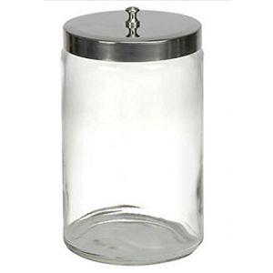 GLASS SUNDRY JARS, UNLABELED