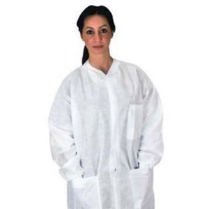 LAB COATS WITH POCKETS, NON-STERILE