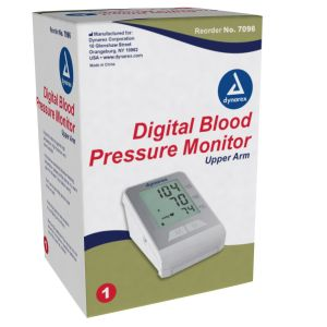 DIGITAL BLOOD PRESSURE MONITOR, UPPER ARM