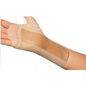 WRIST SPLINT, COTTON / ELASTIC RIGHT HAND, BEIGE