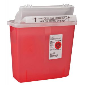 MULTI-PURPOSE SHARPS CONTAINER SHARPSTAR IN-ROOM, 5qt.