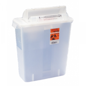 MULTI-PURPOSE SHARPS CONTAINER SHARPSTAR IN-ROOM, 12qt.