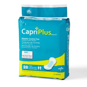 "CAPRI PLUS BLADDER CONTROL PADS 8"" X 17"""