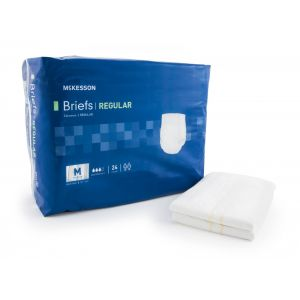 ADULT INCONTINENT BRIEF (DIAPER), REGULAR TAB CLOSURE, MODERATE ABSORBENCY