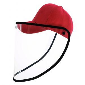 SAFETY FACE SHIELD ANTI-SALIVA PROTECTIVE CAP, COVER DUST PROOF OUTDOOR