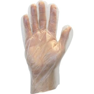 CLEAR GLOVES, GENERAL PURPOSE (PF) LARGE