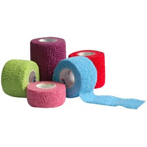 ASSORTED COLORS COHESIVE BANDAGES, NON-STERILE