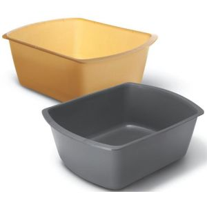 RECTANGULAR WASHBASIN, 8 qt.