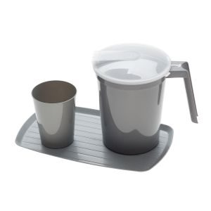 WATER TUMBLER & PITCHER SET