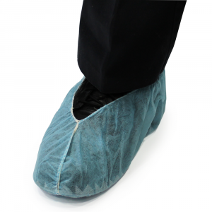 SHOE COVERS REGULAR SIZE, BLUE