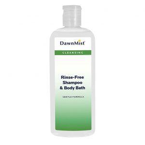 RINSE FREE SHAMPOO AND BODY BATH, 8oz.