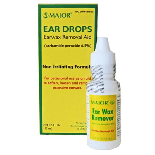 EAR DROPS 0.5 OZ DROPPER
